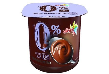 מעדן 0% בטעם שוקולד