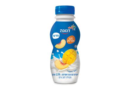 משקה יוגורט עם אננס וקוקוס 2.2% שומן 267 גרם