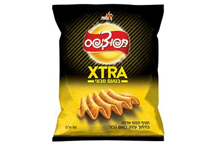 תפוצ'יפס XTRA בטעם טבעי
