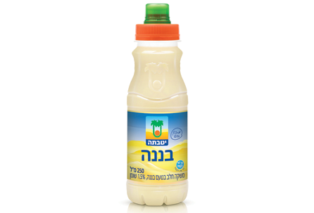 משקה חלב בטעם בננה -פקק