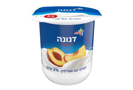 יוגורט עם אפרסק 3% שומן 150 גרם