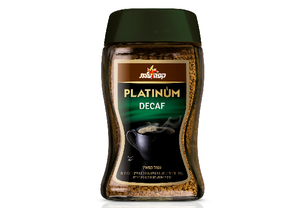 קפה נמס מיובש בהקפאה נטול קפאין