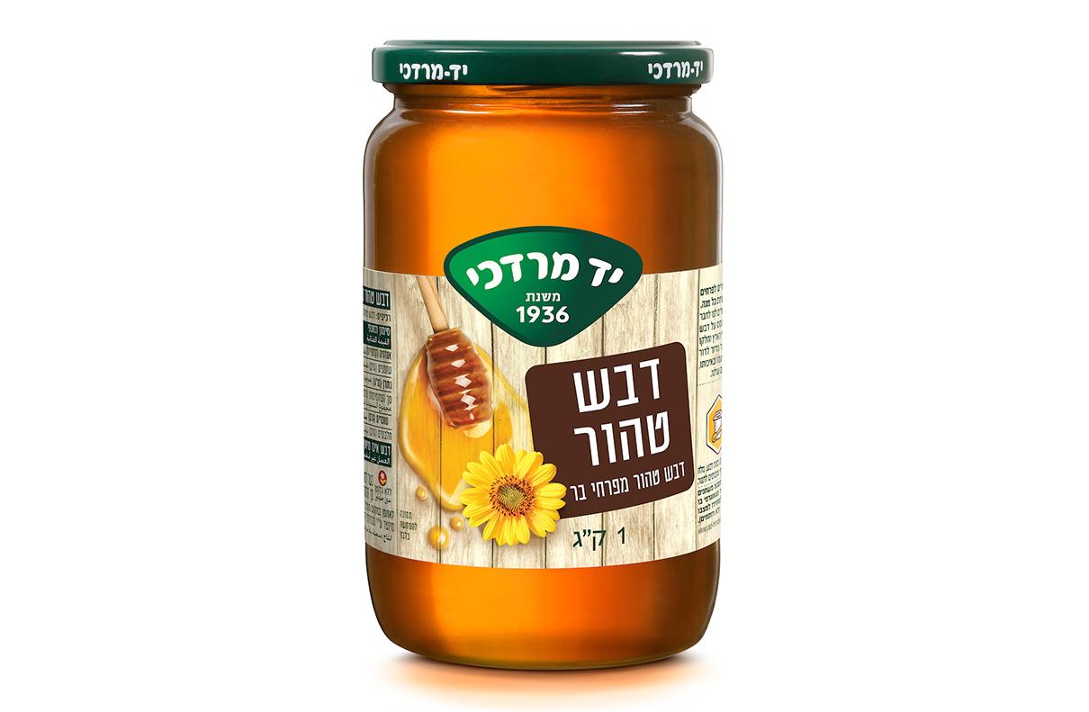 דבש טהור מפרחי בר 1 ק