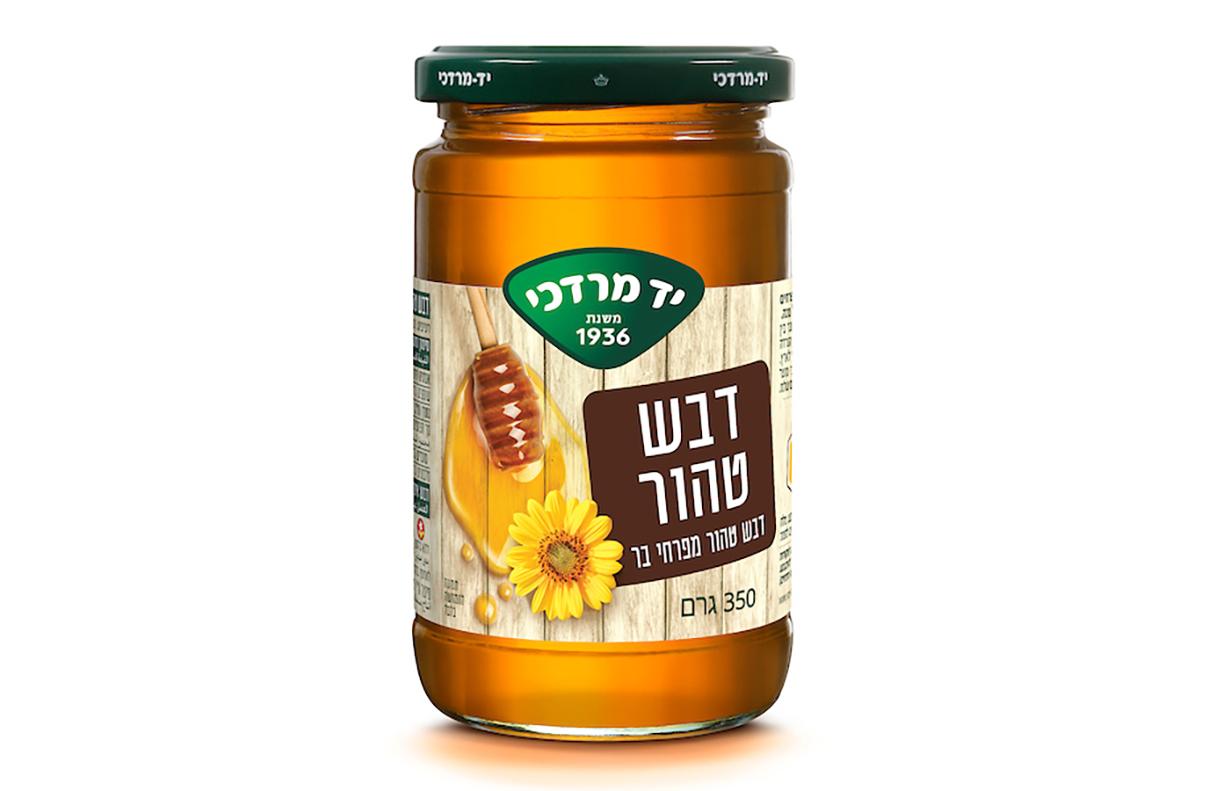 דבש טהור מפרחי בר 350 גרם