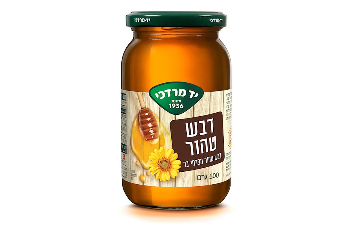 דבש טהור מפרחי בר 500 גרם