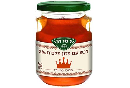 דבש עם מזון מלכות 5.8%