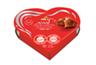 לבבות שוקולד חלב במילוי קרם אגוזים 50 גרם