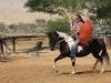 רכיבה על סוס כחלק מהסיור במפעל יטבתה